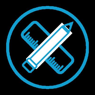 Bespoke 3d design concepts icon