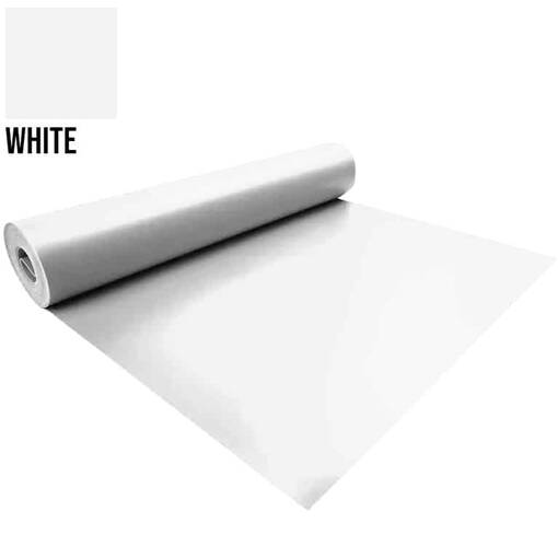 White 5 metre pvc