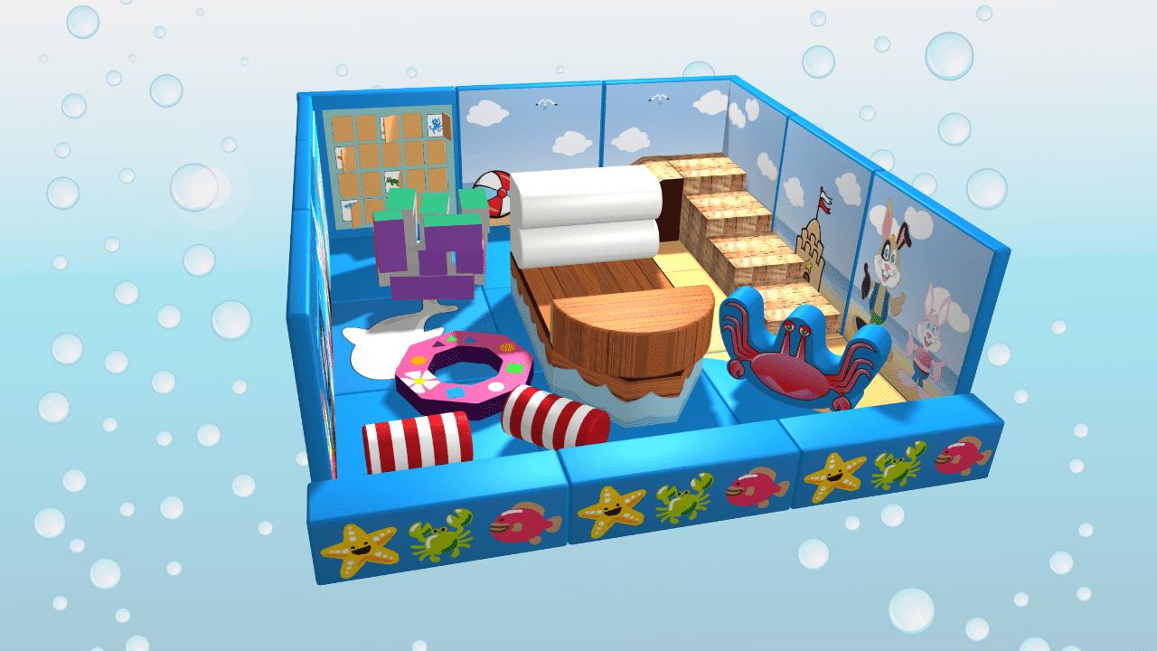 Ocean Theme Pack Away Soft Play Demountable
