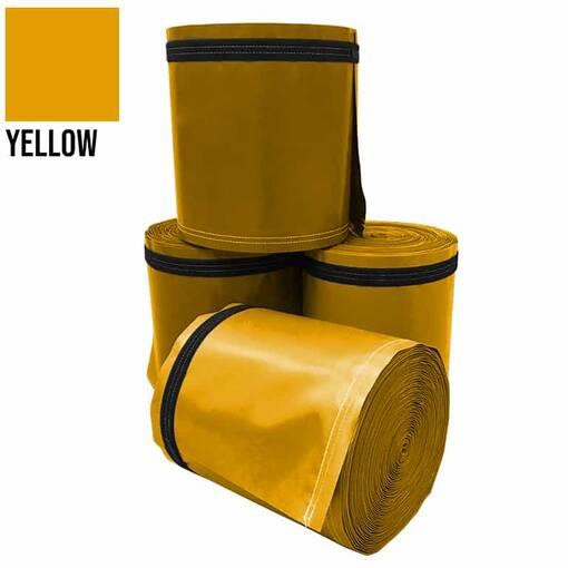 Yellow 5 metre pole wrap