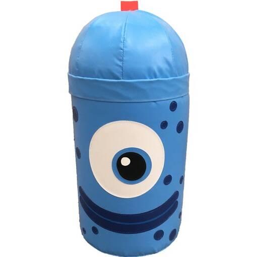 Blue alien monster bash bag indoor playground soft play equipment