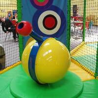 Air Shot Foam Ball Cannons Interactive Features Soft Play Indoor Playground Equipment