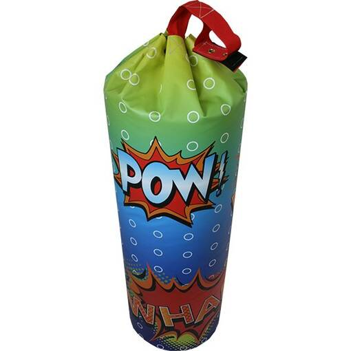Comic book action bash bag indoor playground soft play equipment