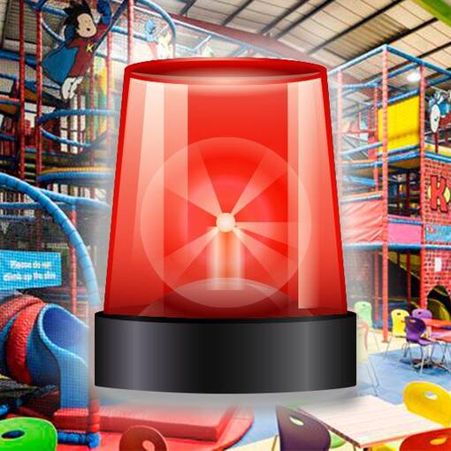 Emergency cleaning maintenance service icon soft play indoor playground
