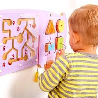 Hippo Theme Animal Wall Mounted Activity Panel Indoor Playground Soft Play Sensory Room Equipment