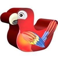 Parrot Theme Soft Play Rocker Indoor Playground Equipment