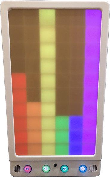 Rhapsody music interactive light panel multi coloured sensory equipment wall mounted