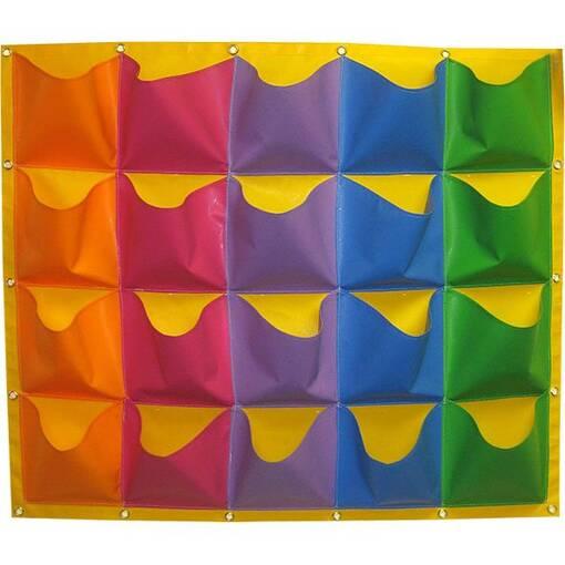 Shoe storage / shoe pockets / shoe holder. Soft play indoor playground feature equipment