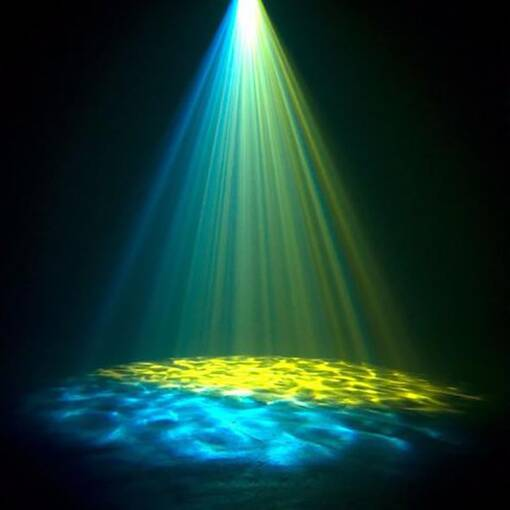 Water effect projector wall or ceiling mounted sensory room equipment