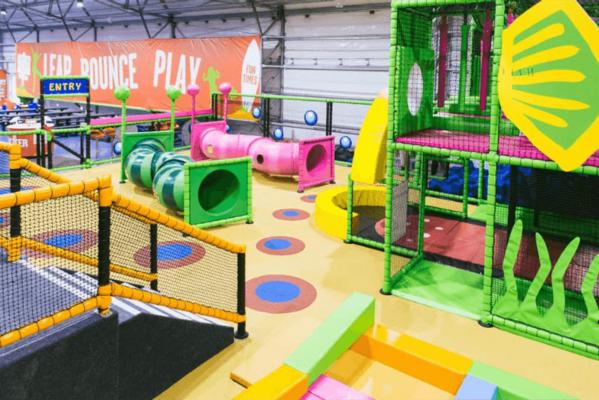 Soft play centre design, indoor playground