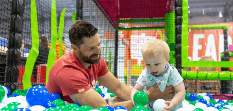 Soft play centre design, indoor playground
