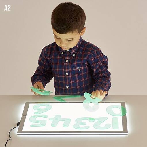 Led light box table top panel