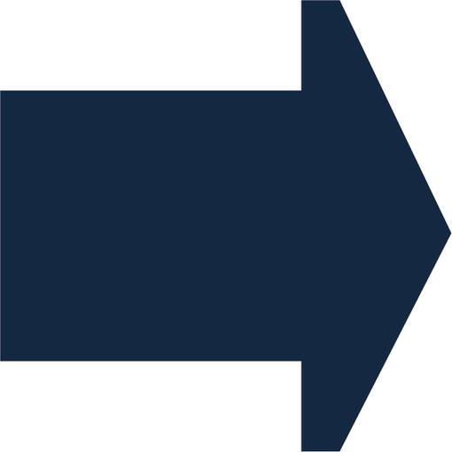 Soft play & indoor playground directional arrow dark blue