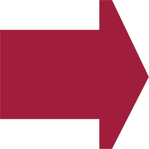 Soft play & indoor playground directional arrow fuchsia