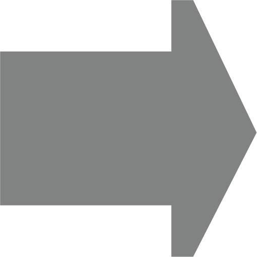 Soft play & indoor playground directional arrow grey