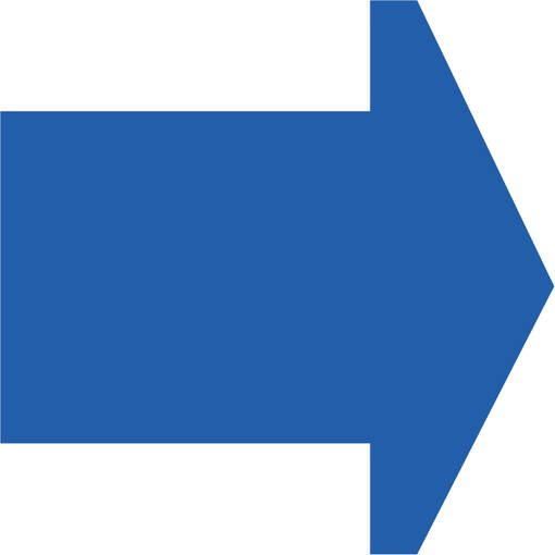 Soft play & indoor playground directional arrow ice blue