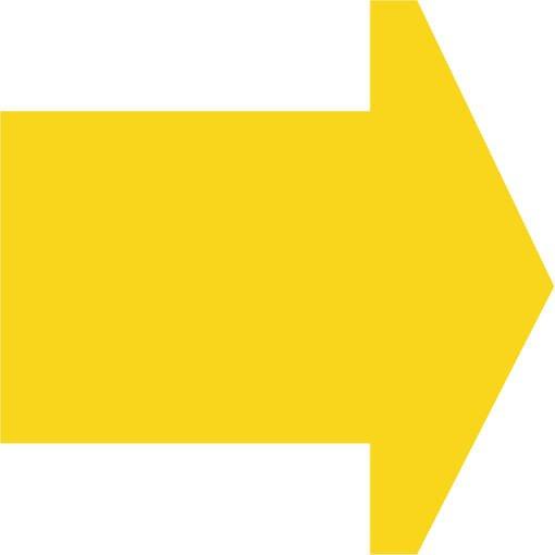 Soft play & indoor playground directional arrow lemon