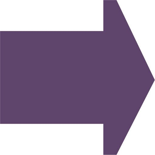 Soft play & indoor playground directional arrow lilac