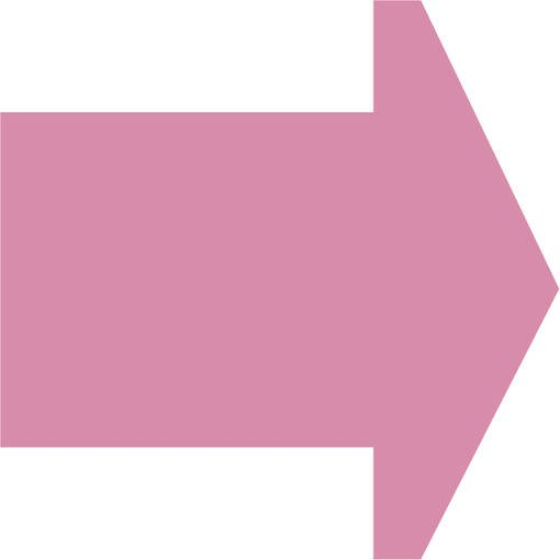 Soft play & indoor playground directional arrow pink