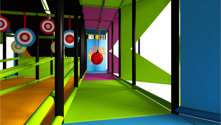 Soft play equipment, indoor playground equipment