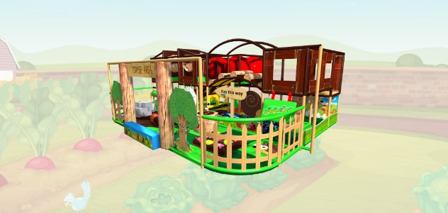 Farmyard Soft Play Indoor Playground Design