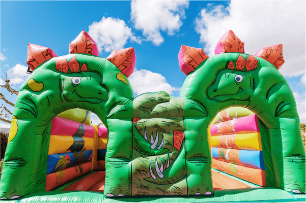 Bounce castle, inflatables play equipment