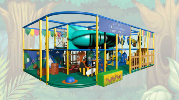 Forest Soft Play Equipment,Indoor Playground Equipment