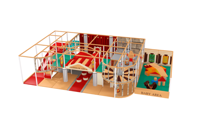 Roman soft play equipment, history indoor playground equipment