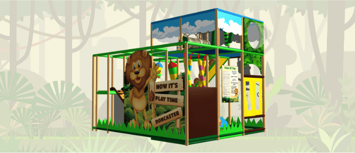 Jungle Soft Play Indoor Playground Design
