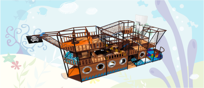 Pirate Soft Play Indoor Playground Design