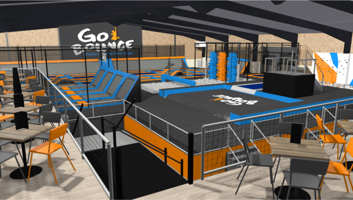 Trampoline Park Design, Trampoline Park Equipment