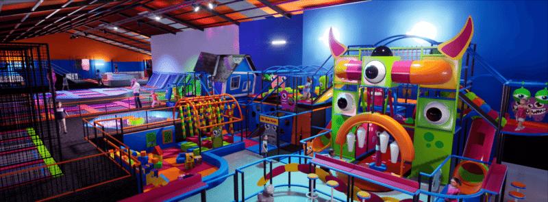 Indoor playground installation