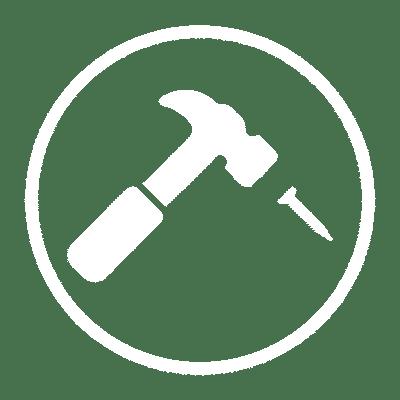 Install icon white