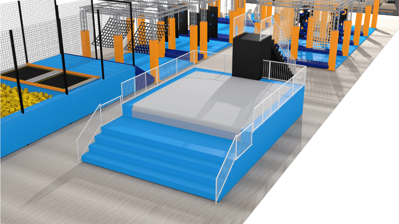 Ninja warrior course equipment