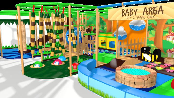 Beekeeper soft play equipment, indoor playground equipment