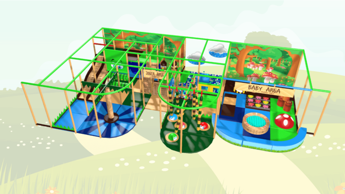 Beekeeper Soft Play Equipment, Indoor Playground Equipment