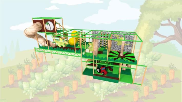 Farm Soft Play Equipment, Indoor Playground Equipment