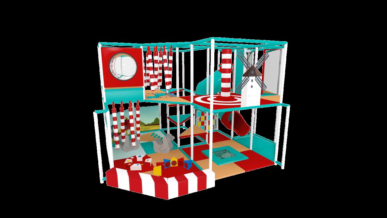 Beach soft play equipment, seaside indoor playground equipment