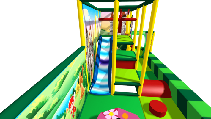 Fantasy soft play equipment, indoor playground equipment