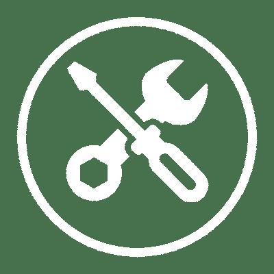 Maintenance icon white