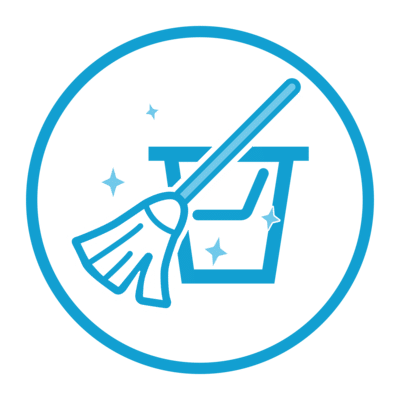 Specialist cleaning icon