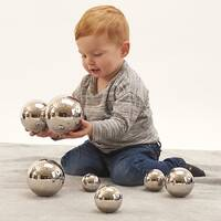 sensory tactile mirror sound reflective balls
