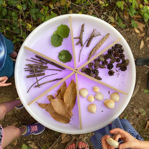 Sensory discovery table, led sensory play and learning equipment