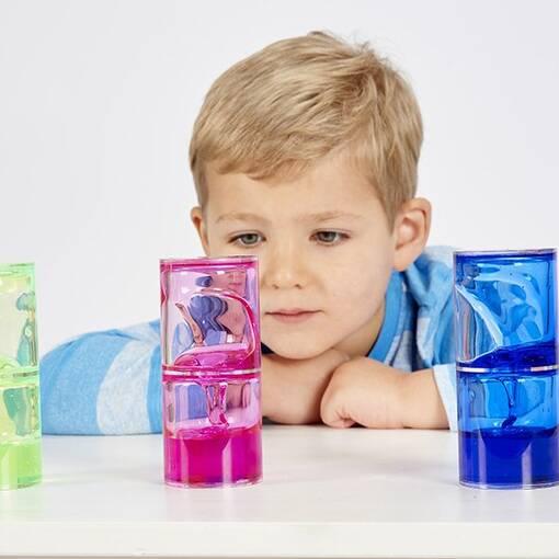 Sensory ooze tube liquid gel effect colour recognition