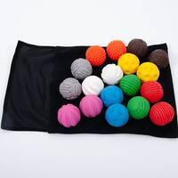 sensory tactile ball set textured colourful