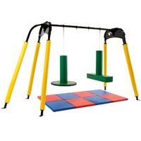sensory ingratiation free-standing frame for swings