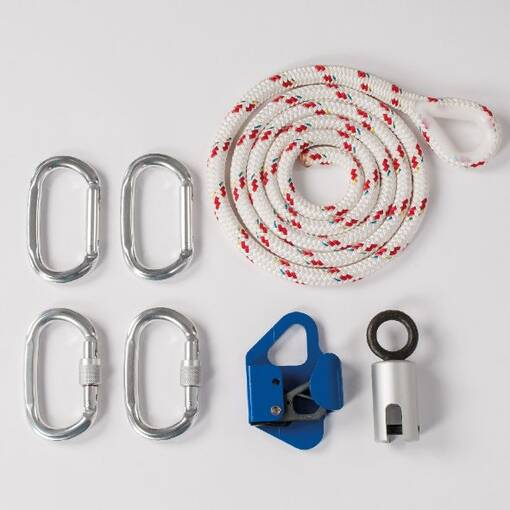Height adjustment kit for sensory swings and suspension systems