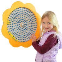 sensory flower rainfall rain panel