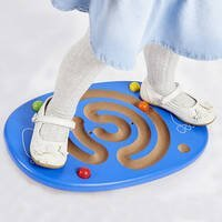trace and balance board with balls wobble board sensory integration