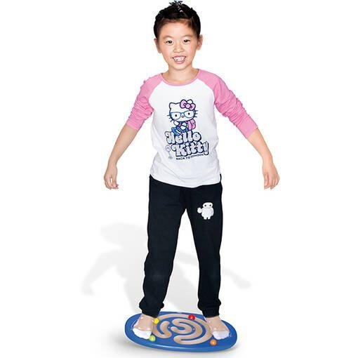 Trace and balance board with balls wobble board sensory integration